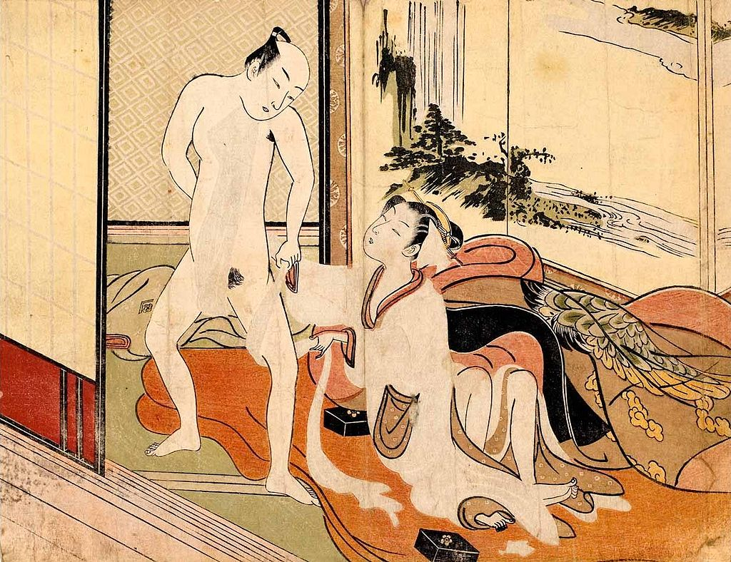 Suzuki_Harunobu_-_Arranging_His_Loincloth,_from_an_untitled_series,_c._1770.jpg