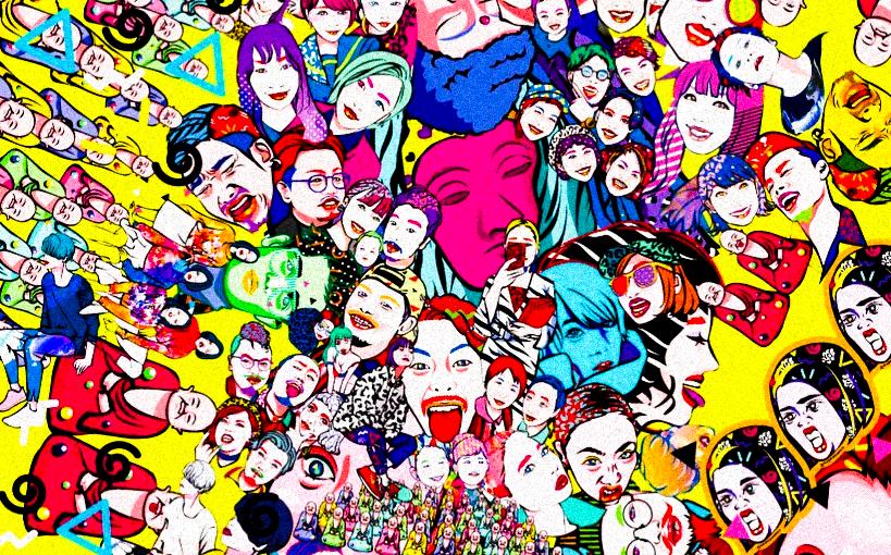 Las diseños de la japonesa Napoyan irradian pop, juventud ylocura