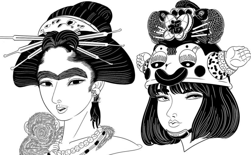 Masanori Ushiki y su diario de ilustracionessurrealistas