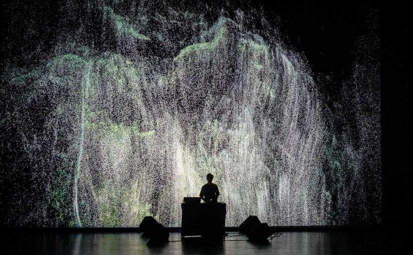 La electrónica visual de Ryoichi Kurokawa en el primer L.E.V. MATADEROMadrid