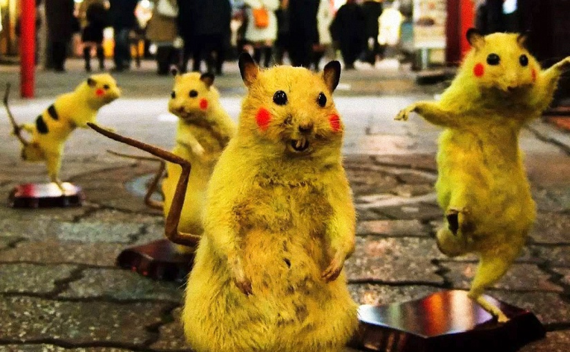 Chim↑Pom y el arte de cazar súper ratas radioactivas enTokio