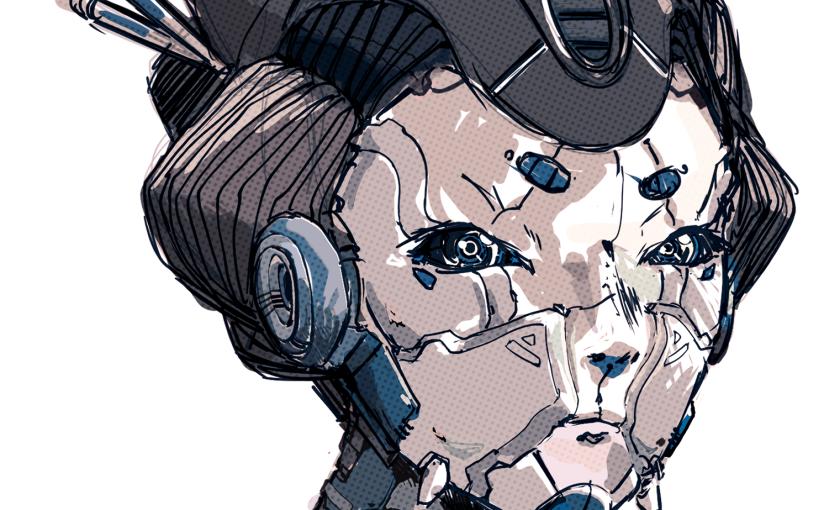 Conoce al ilustrador valenciano Kazu!  Cyberpunk para enamorados deJapón