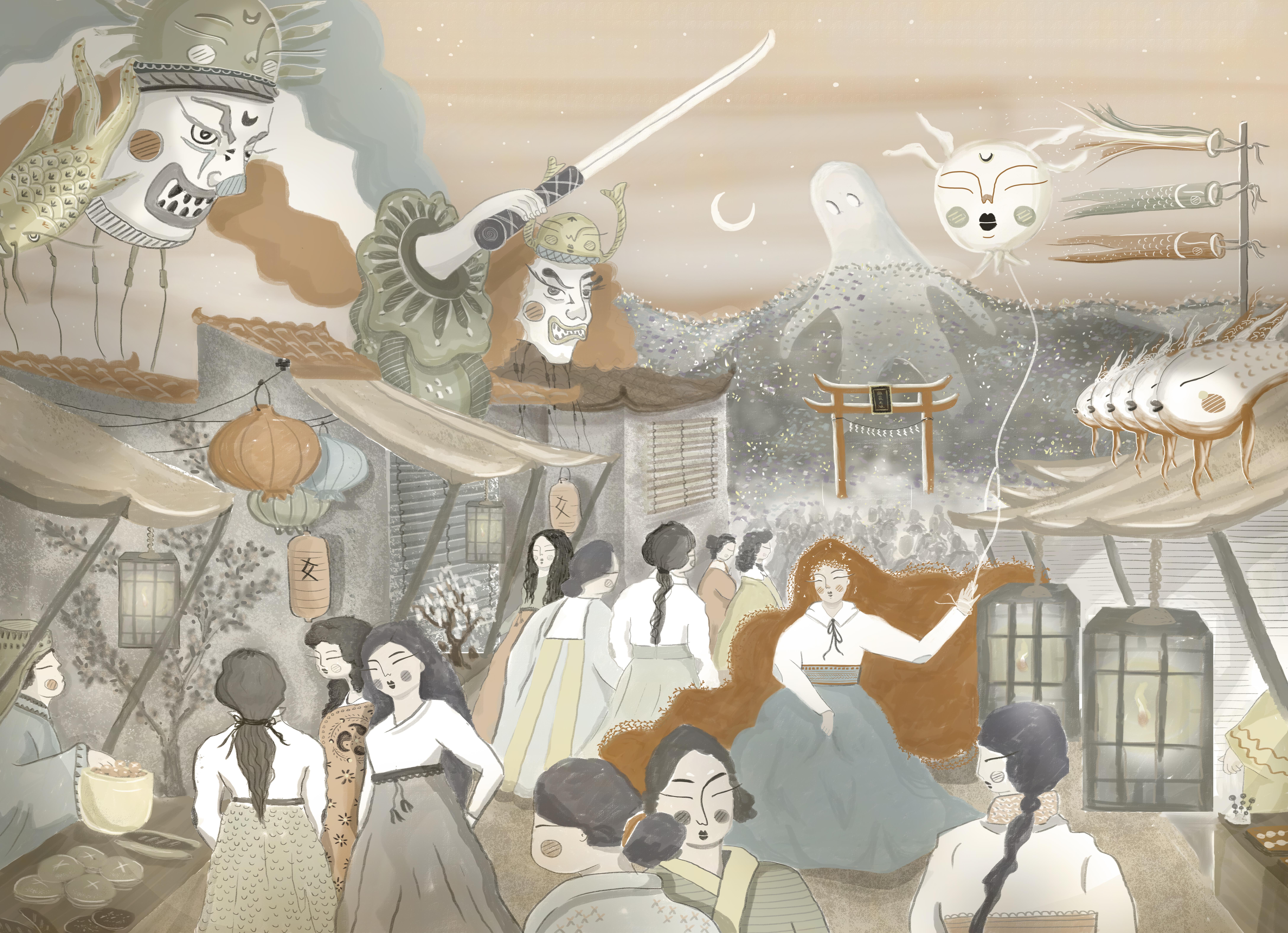 Matsuri antiguo